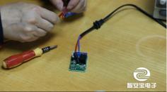 深圳智安宝电子:12V一路控制器接线方法,速速围观!